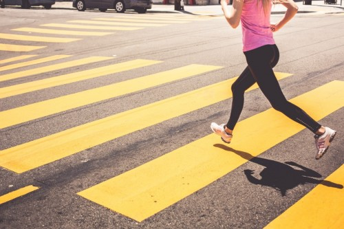 blonde-woman-running-over-the-pedestrian-crossing-picjumbo-com1